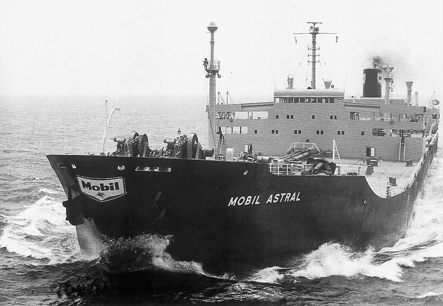 T.T. MOBIL ASTRAL 29 Jun 1971 to 29 Jul 1971 - Third Mate